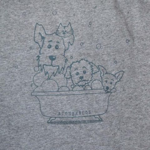camiseta-nino-nina-eco-gris-biosbardos-perro-gato