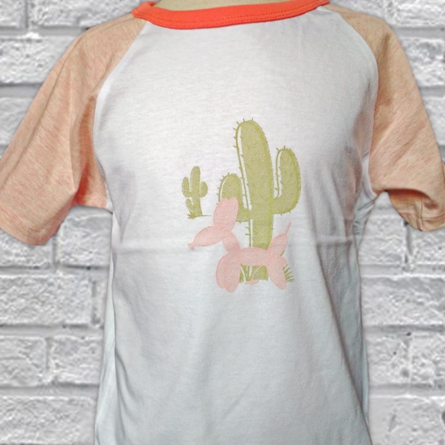camiseta infantil cactus