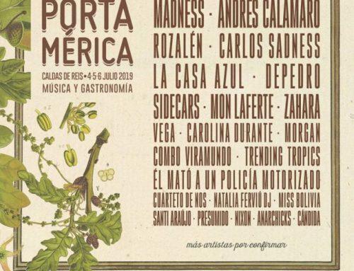 Festival Portamérica en Caldas de Reis  –  Del 4 al 6 de julio