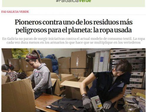 Fai Galicia Verde: cómo reciclar ropa usada