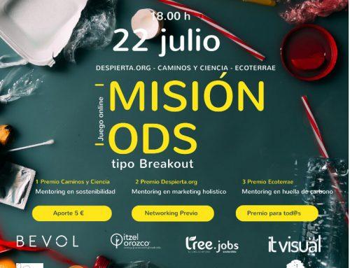Misión ODS – 22 julio a las 18:00h