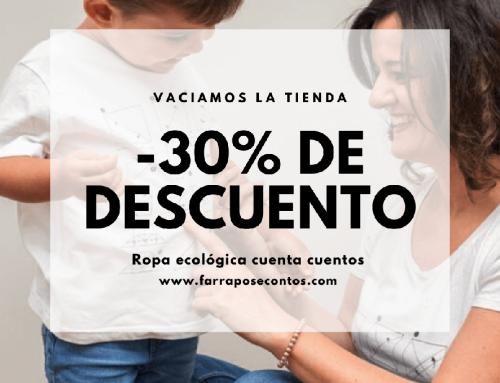 """¿Buscabas ropa sostenible barata? -30% descuento con el código """"30%+barato"""""""
