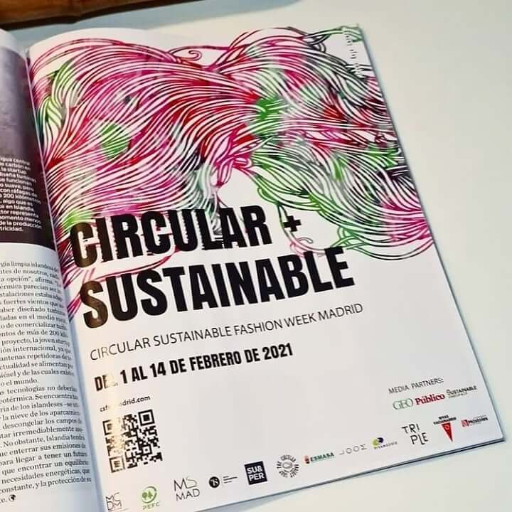 circular sustainable fashion week madrid