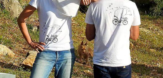 camiseta ecológica con logo